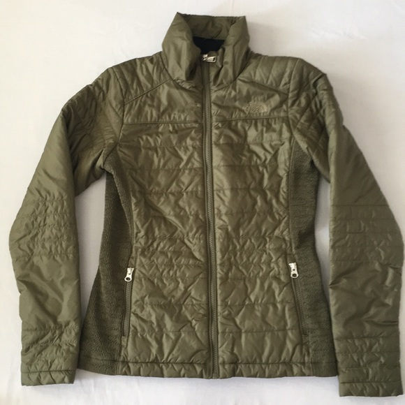 abf002f45 The North Face Women's Olive Green Puffer Jacket S